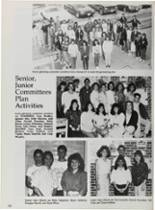 1987 Vidor High School Yearbook Page 114 & 115