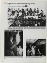 1987 Vidor High School Yearbook Page 126 & 127