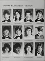 1987 Vidor High School Yearbook Page 154 & 155