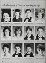 1987 Vidor High School Yearbook Page 156 & 157