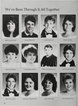 1987 Vidor High School Yearbook Page 160 & 161