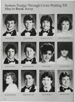 1987 Vidor High School Yearbook Page 176 & 177