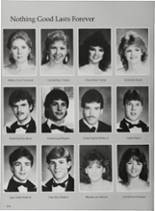 1987 Vidor High School Yearbook Page 178 & 179