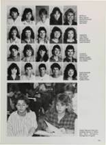 1987 Vidor High School Yearbook Page 184 & 185