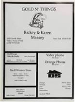 1987 Vidor High School Yearbook Page 222 & 223