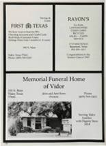 1987 Vidor High School Yearbook Page 224 & 225