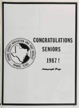 1987 Vidor High School Yearbook Page 244 & 245