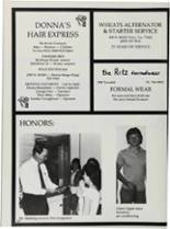 1987 Vidor High School Yearbook Page 246 & 247