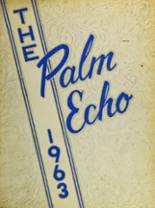1963 Yearbook Miami Palmetto High School