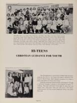 1956 Clearwater High School Yearbook Page 44 & 45