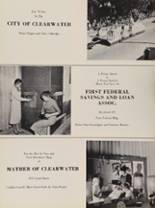 1956 Clearwater High School Yearbook Page 112 & 113