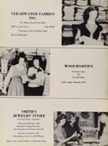 1956 Clearwater High School Yearbook Page 122 & 123