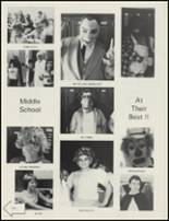 1984 Collinsville High School Yearbook Page 128 & 129