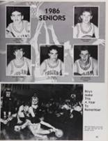 1986 Petaluma High School Yearbook Page 86 & 87