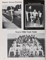 1986 Petaluma High School Yearbook Page 98 & 99