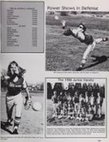 1986 Petaluma High School Yearbook Page 112 & 113