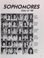 1986 Petaluma High School Yearbook Page 128 & 129