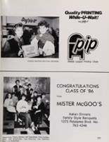 1986 Petaluma High School Yearbook Page 228 & 229