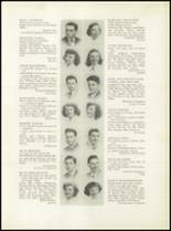 1949 Grover Cleveland High School Yearbook Page 18 & 19