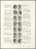 1949 Grover Cleveland High School Yearbook Page 20 & 21