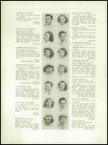 1949 Grover Cleveland High School Yearbook Page 22 & 23