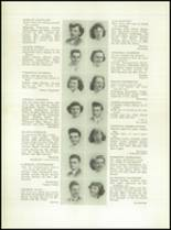 1949 Grover Cleveland High School Yearbook Page 26 & 27