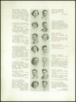 1949 Grover Cleveland High School Yearbook Page 34 & 35