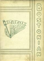 1953 Yearbook Roxbury Memorial High School