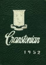 1952 Yearbook Cranston High School East