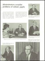1967 Arsenal Technical High School 716 Yearbook Page 20 & 21