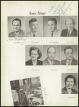1957 Ramsay High School Yearbook Page 12 & 13