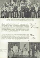 1954 Episcopal High School Yearbook Page 106 & 107