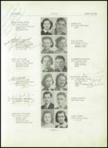 1939 Lincoln High School Yearbook Page 16 & 17