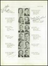 1939 Lincoln High School Yearbook Page 18 & 19