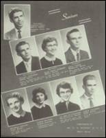1958 Central Christian School Yearbook Page 14 & 15