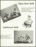 1958 Central Christian School Yearbook Page 30 & 31