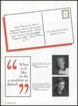 1994 Baird High School Yearbook Page 10 & 11