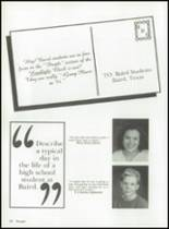 1994 Baird High School Yearbook Page 34 & 35