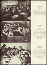 1949 Academy of The Sacred Heart Yearbook Page 54 & 55