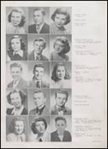 1949 Danville High School Yearbook Page 20 & 21