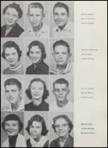 1957 Albany High School Yearbook Page 24 & 25