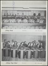 1957 Albany High School Yearbook Page 60 & 61