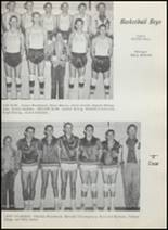 1957 Albany High School Yearbook Page 70 & 71