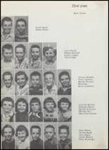1957 Albany High School Yearbook Page 90 & 91