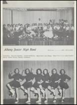 1957 Albany High School Yearbook Page 98 & 99