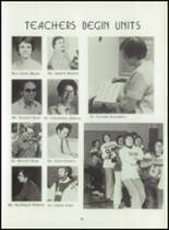 1980 Beckman High School Yearbook Page 22 & 23