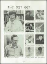 1980 Beckman High School Yearbook Page 24 & 25