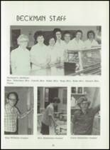 1980 Beckman High School Yearbook Page 26 & 27