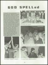 1980 Beckman High School Yearbook Page 44 & 45