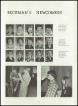 1980 Beckman High School Yearbook Page 62 & 63